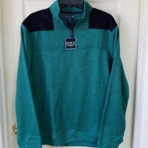NWT - Charlestown Threads 1/4 Zip Pullover